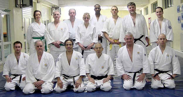 SENTA YAMADA SENSEI - WITH HIS FRIENDS - LONDON 21FEB2006